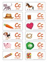 étiquettes-mots-La lettre C