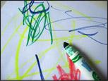 2. Faites colorier le papier blanc.