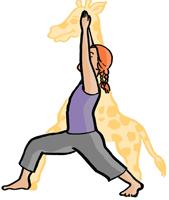 girafe - yoga