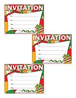 invitations-Célébrations de Noël