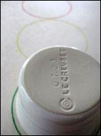2. Tracez trois cercles sur le papier neutre.