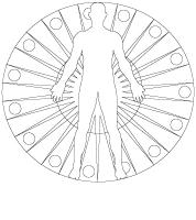 mandalas-Le corps humain
