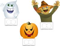 marionnettes à doigts - Halloween