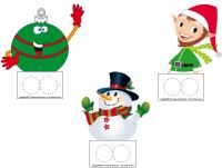 marionnettes à doigts-Noël