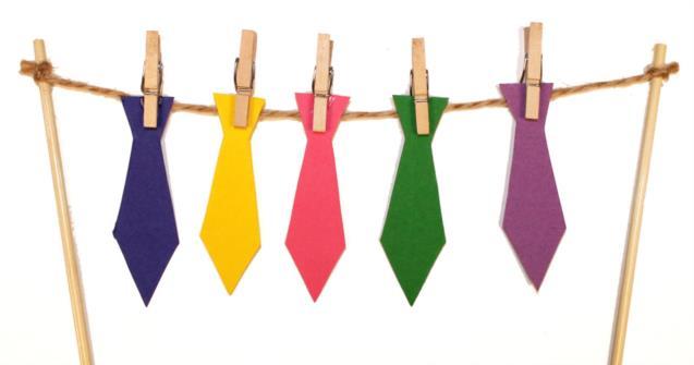 plutôt sympa prix de la rue Baskets 2018 Carte avec des cravates pour la fête des Pères | Educatout