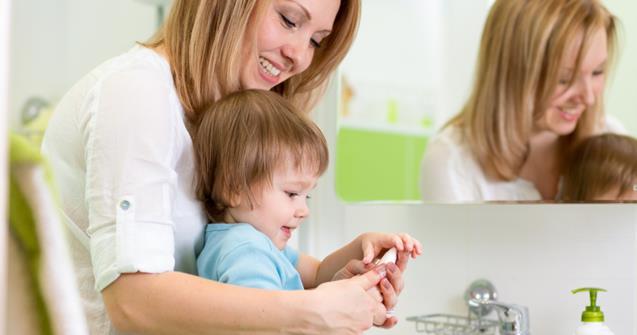 Le lavage des mains la pouponni re sant et hygi ne - Coloriage lavage des mains ...