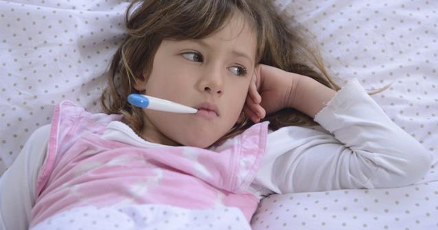 bolesna devojčica