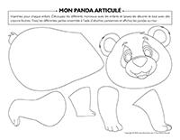 mon panda articulé-1