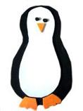 Pingouin coupé/collé