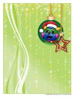 papier à lettres – Noël - Poni