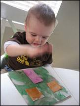 6. Lorsque les morceaux sont secs, assemblez votre maison.