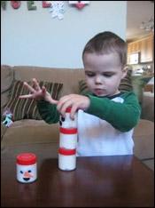 Bâtissez votre bonhomme de neige!