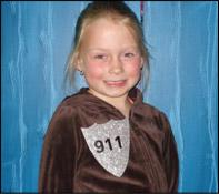 Les enfants seront fiers de porter leur insigne 911!