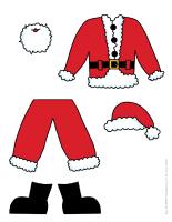 poupée à habiller Noël