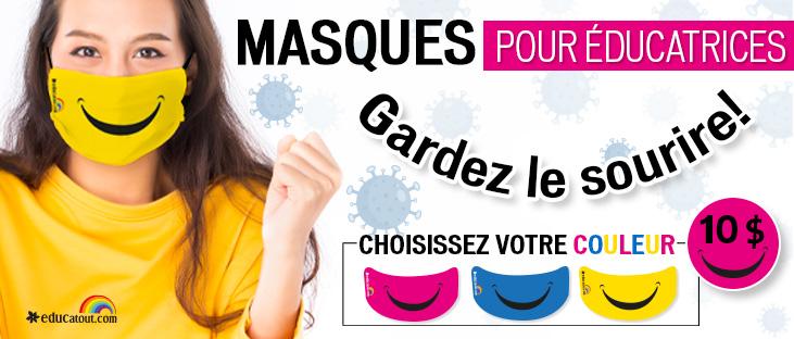 pub masques santé hygiene