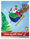 Noël - Visite au pôle Nord